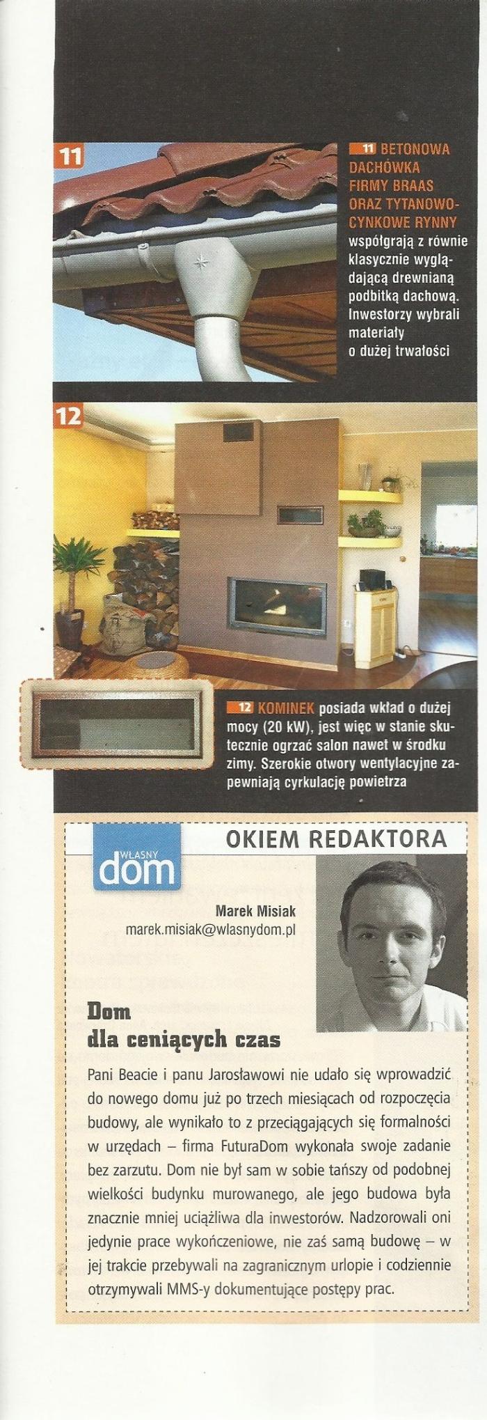 Artykuł pochodzi z miesięcznika Własny dom numer 01/2013