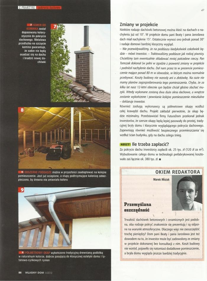 Artykuł pochodzi z miesięcznika Własny dom numer 09/2012