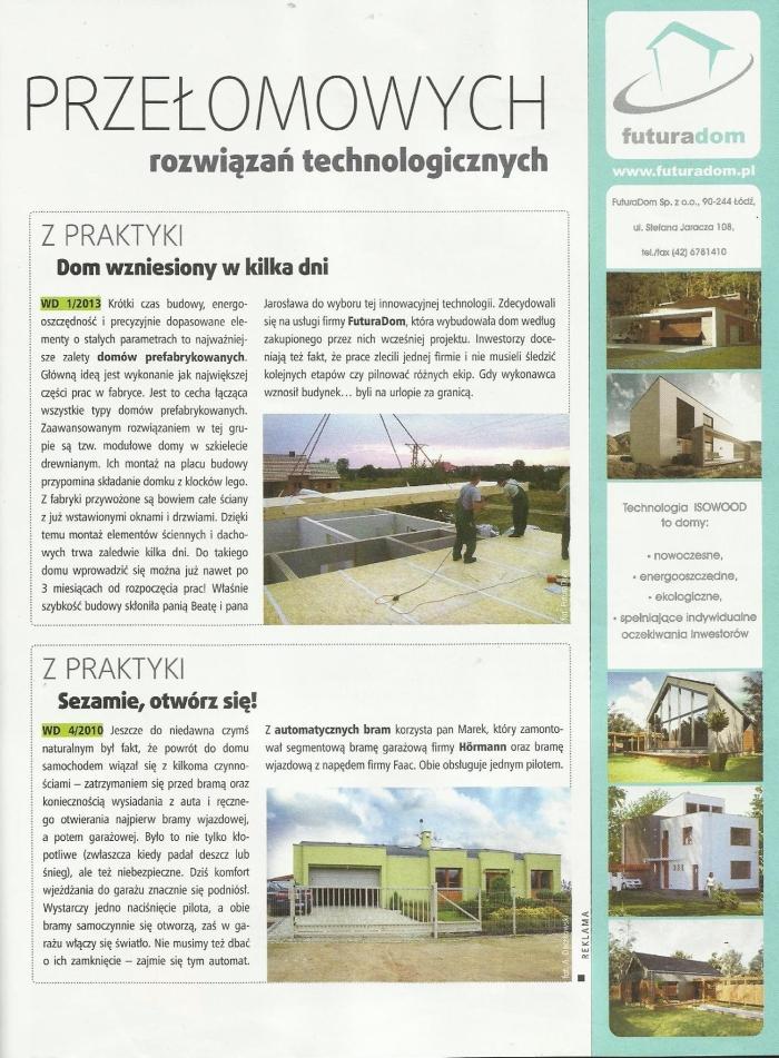 Artykuł pochodzi z miesięcznika Własny dom numer 10/2013